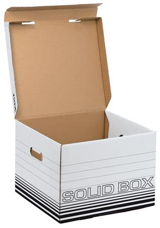 Archiváló doboz, M méret, LEITZ Solid, fehér