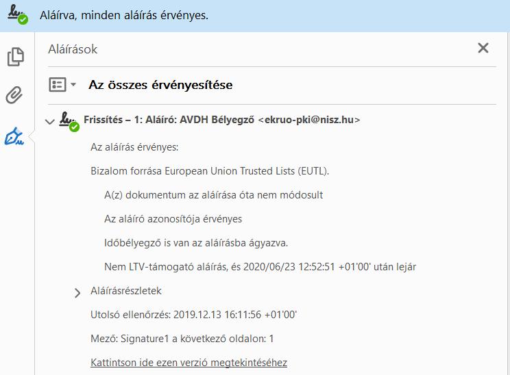 AVDH 8. lépés