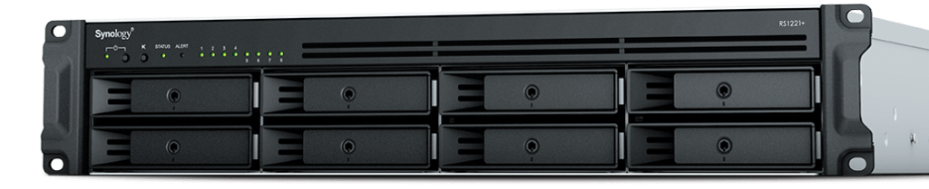 Synology RackStation RS1221+​/​RS1221RP+